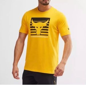 UNDER ARMOUR MENS THE ROCK PROJECT XL Tee